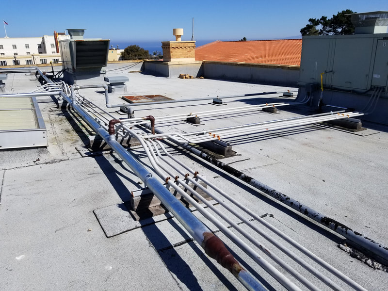 Pacific Grove Middle School - Rooftop Gas Piping Replacement