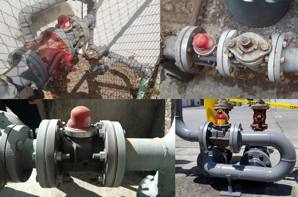 Seismic Safety Valve Inspection